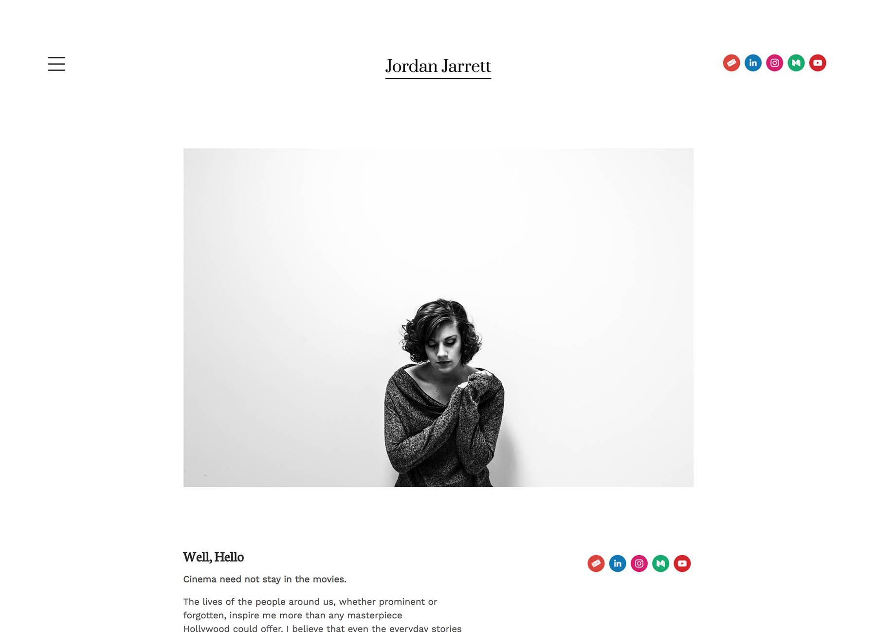 Jordan Jarrett Portfolio