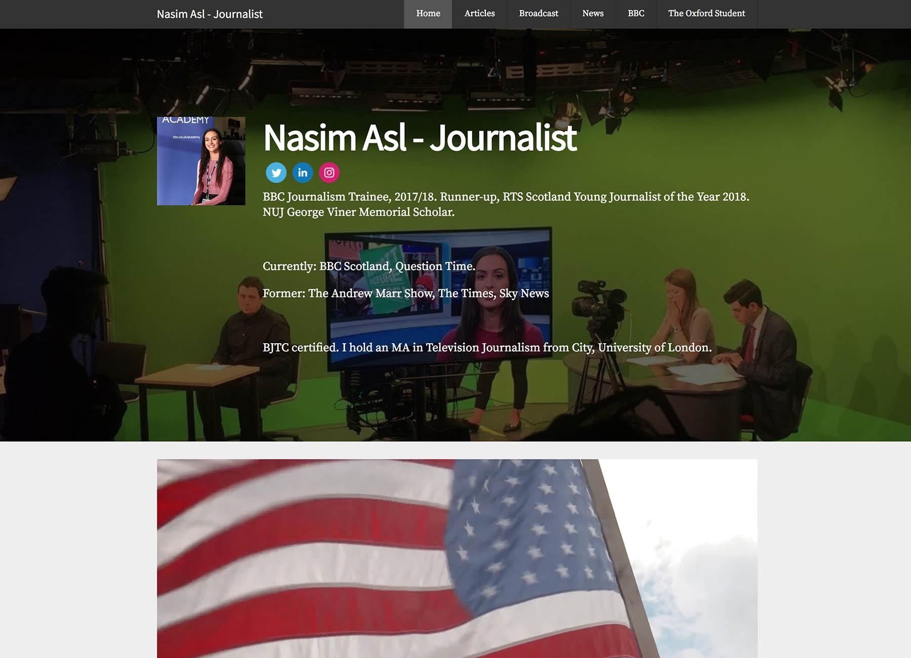 Nasim Asl Portfolio