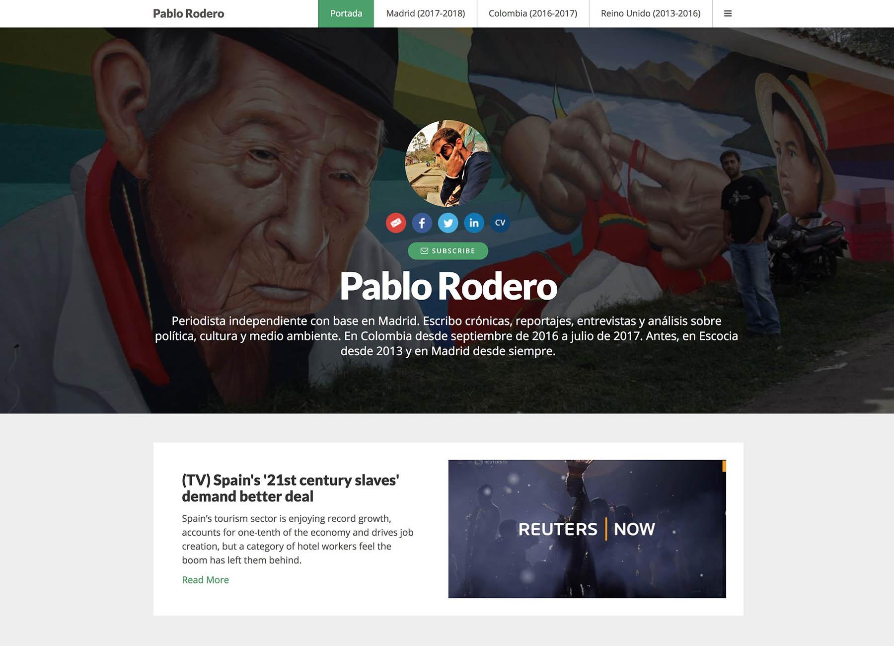 Pablo Rodero Portfolio