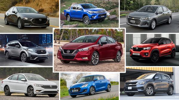 Los autos mas vendidos en Latinoamerica en 2020