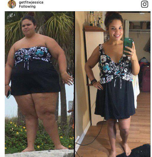 98a0dccf7 21-Year-Old Documents Her Amazing 160-Lb. Weight Loss On Instagram