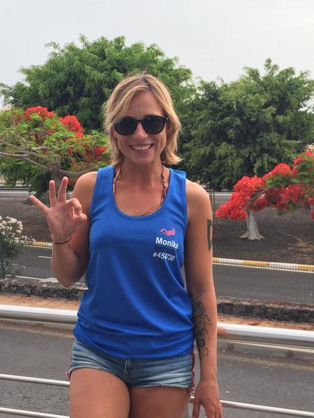 just got new instructor t-shirt, Tenerife