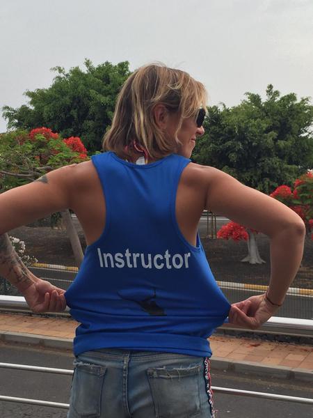 PADI instructor, Tenerife