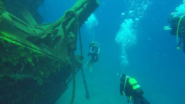 Hazards, wreck speciality, Tabaiba, Tenerife