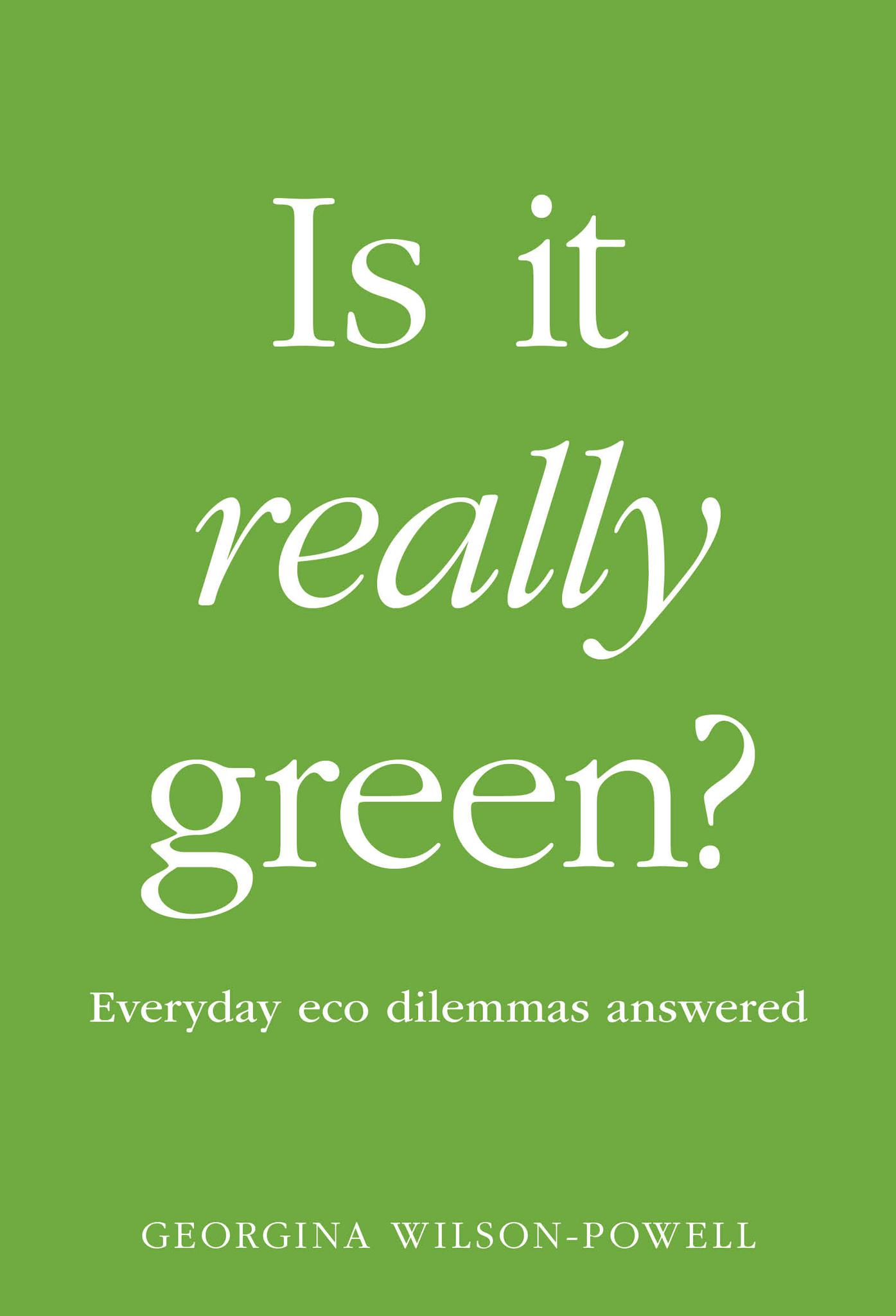 is it really green book cover