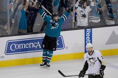 7aa0badcf Joonas Donskoi nets slice of Sharks history
