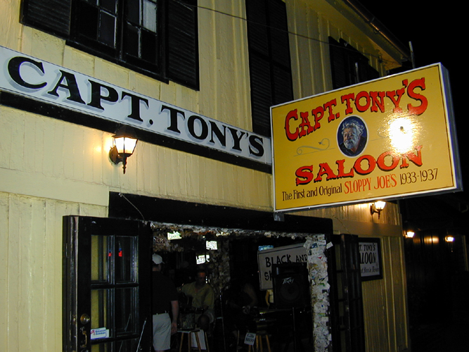 Photo of Exterior of Captain Tony's Saloon