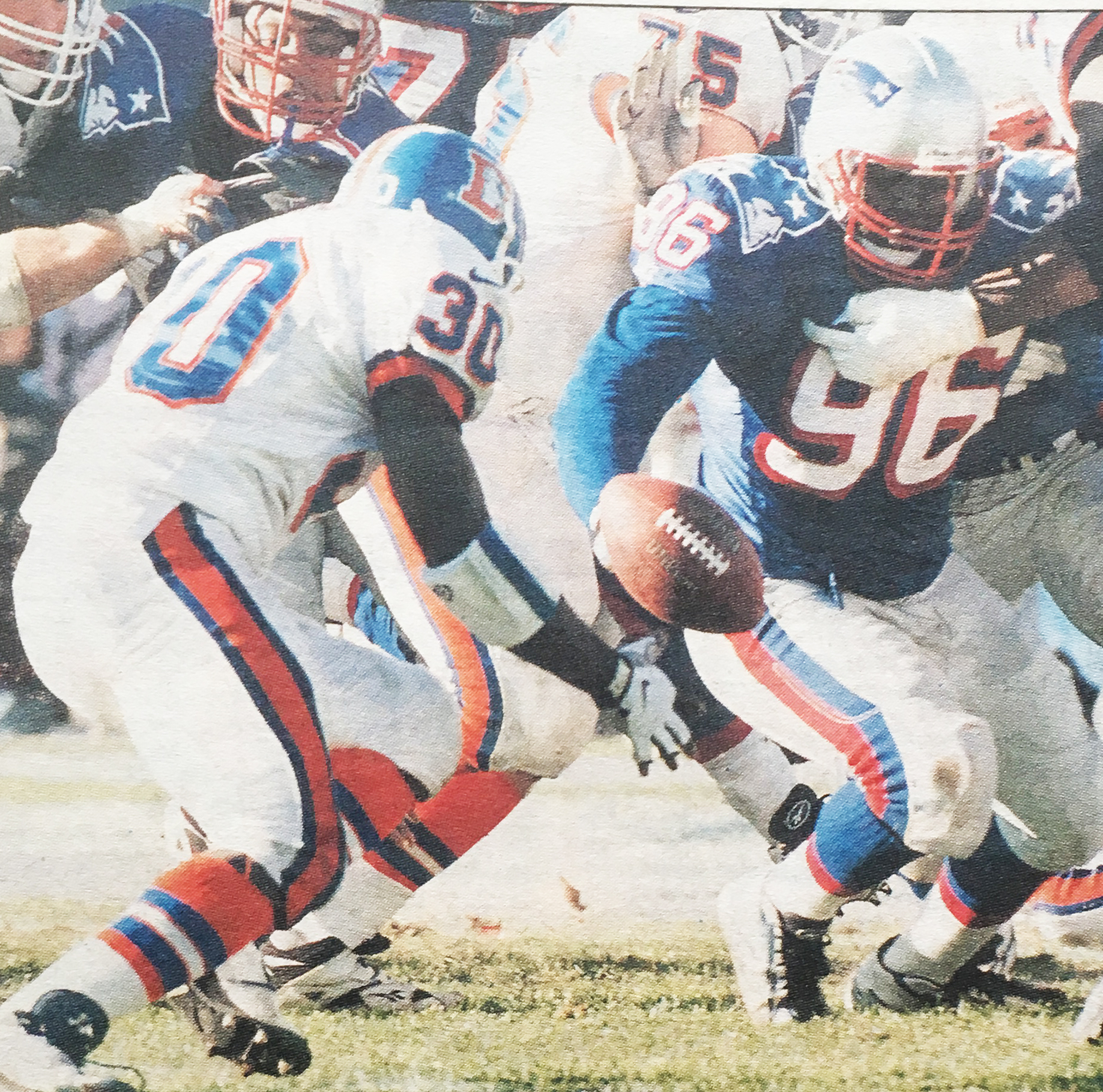 Terrell Davis recovered his own fumble to score a touchdown.