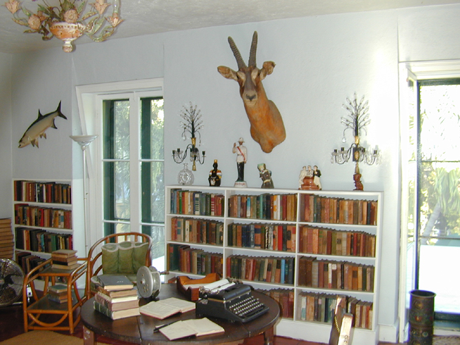 Photo of Ernest Hemingway's Writing Room