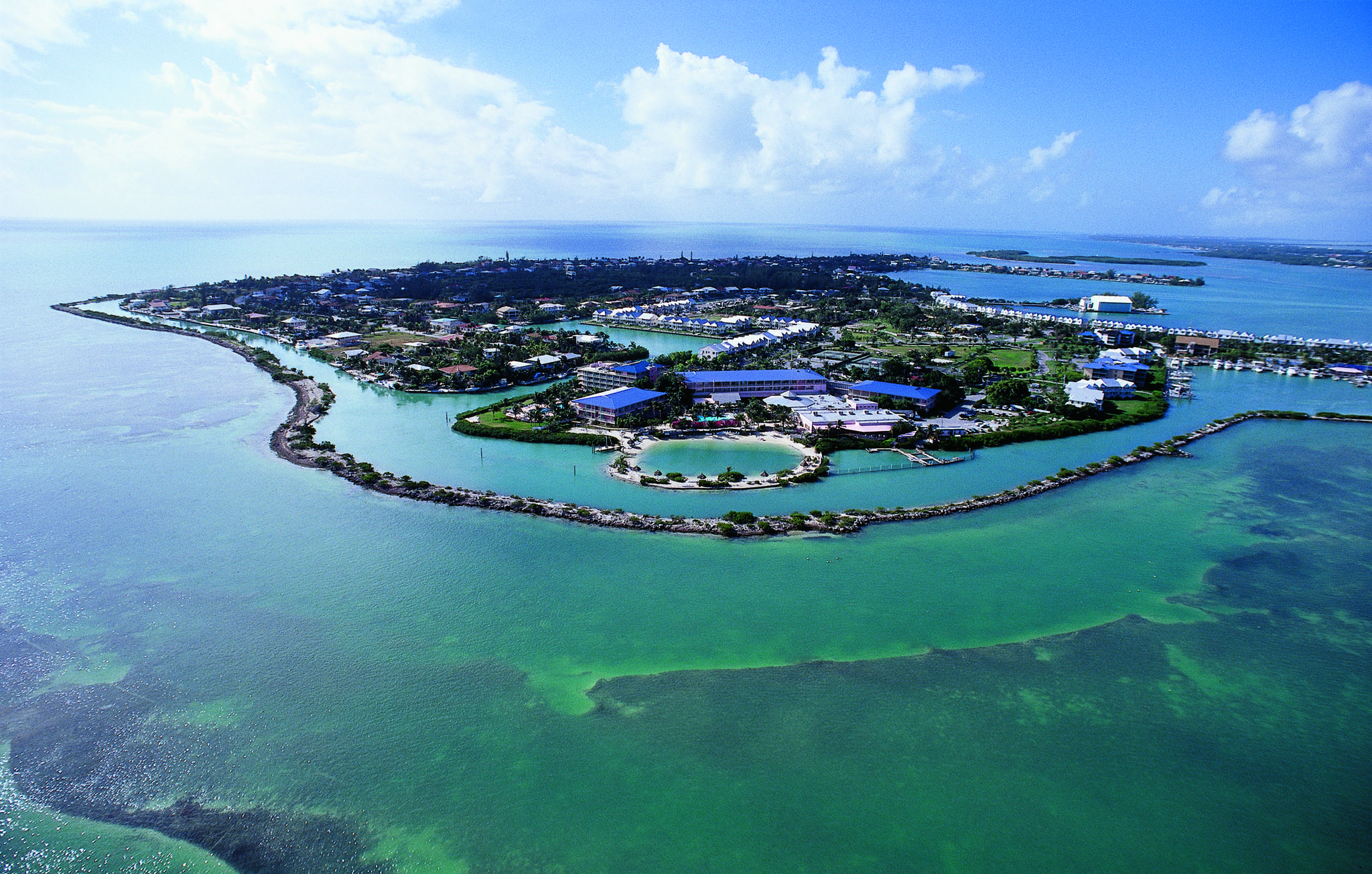 Photo: Aerial view of Hawk's Cay