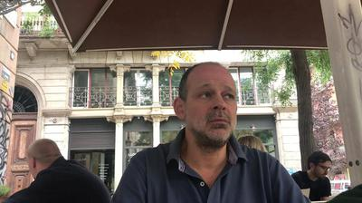 Juan Pablo Cardenal entrevistado por Sara Høyrup