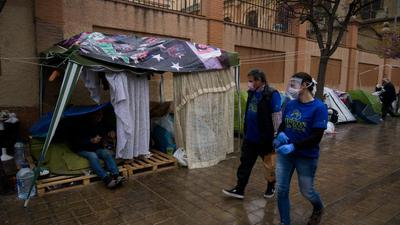 Spanien pandemi