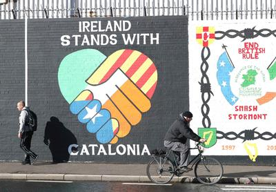 Ireland Catalonia interview by Sara Høyrup