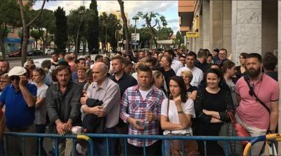 rumænere i venteposition
