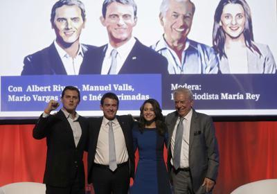 Manuels Valls con Ciudadanos