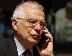 Josep Borrell, den høje udenrigsrepræsentant