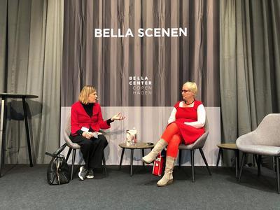 samtale mellem Sara Høyrup og Viveca Tallgren