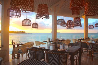 Bodrum Blue restaurant, LUX* Grand Gaube Mauritius
