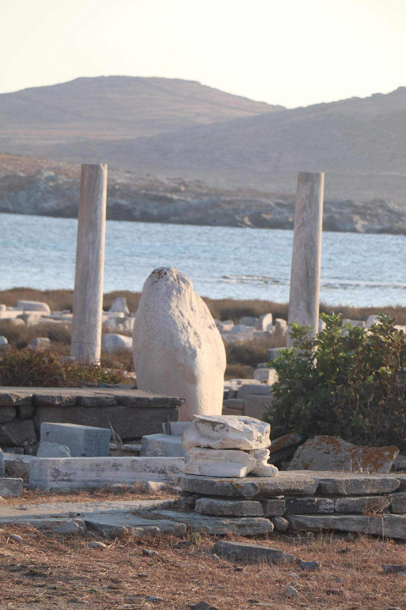 Part of Apollo's torso: all that remains of his 9-metre-high statue. Image: Katrina Holden