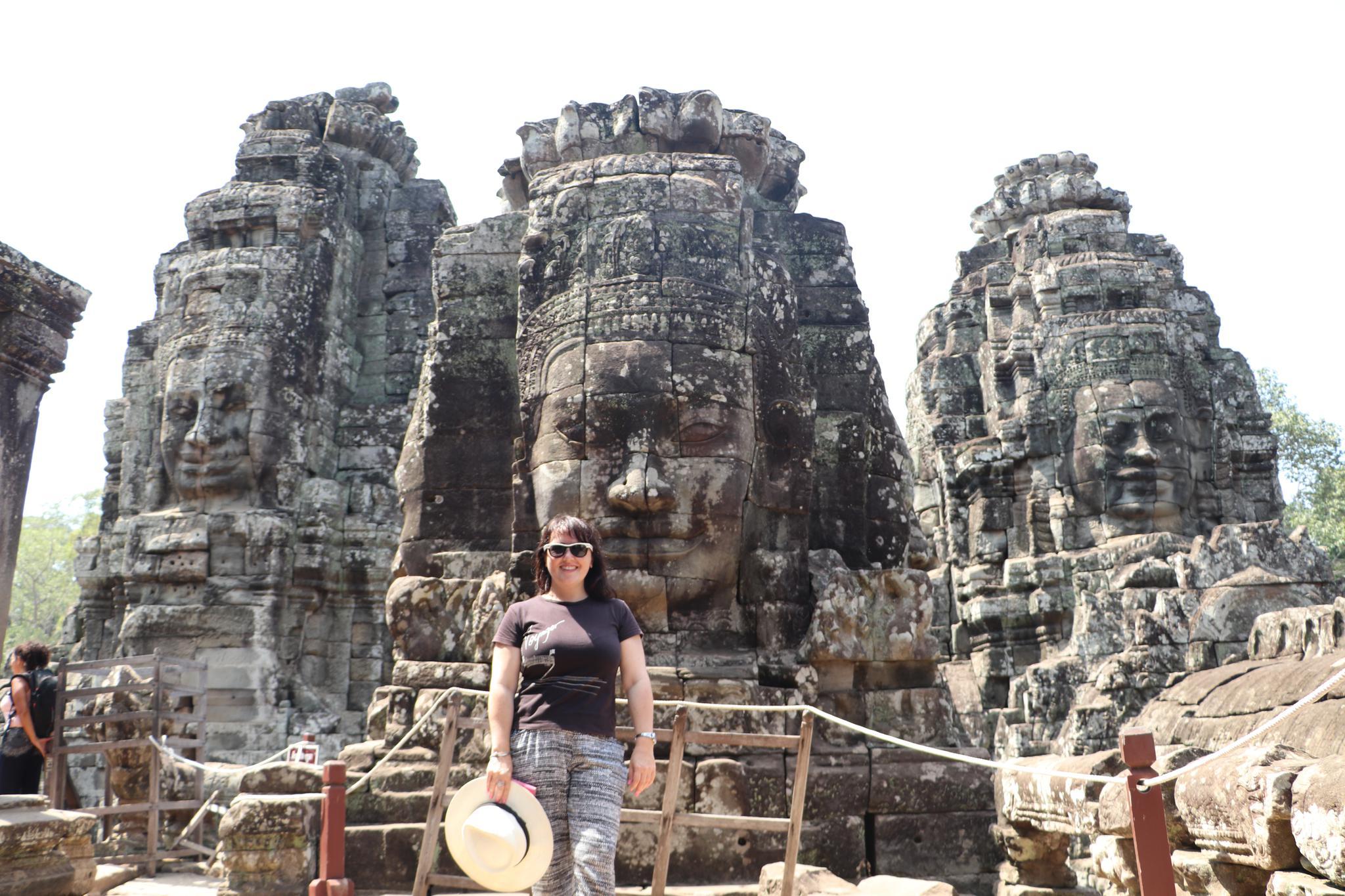 Angkor Thom Temple, Siem Reap, Cambodia