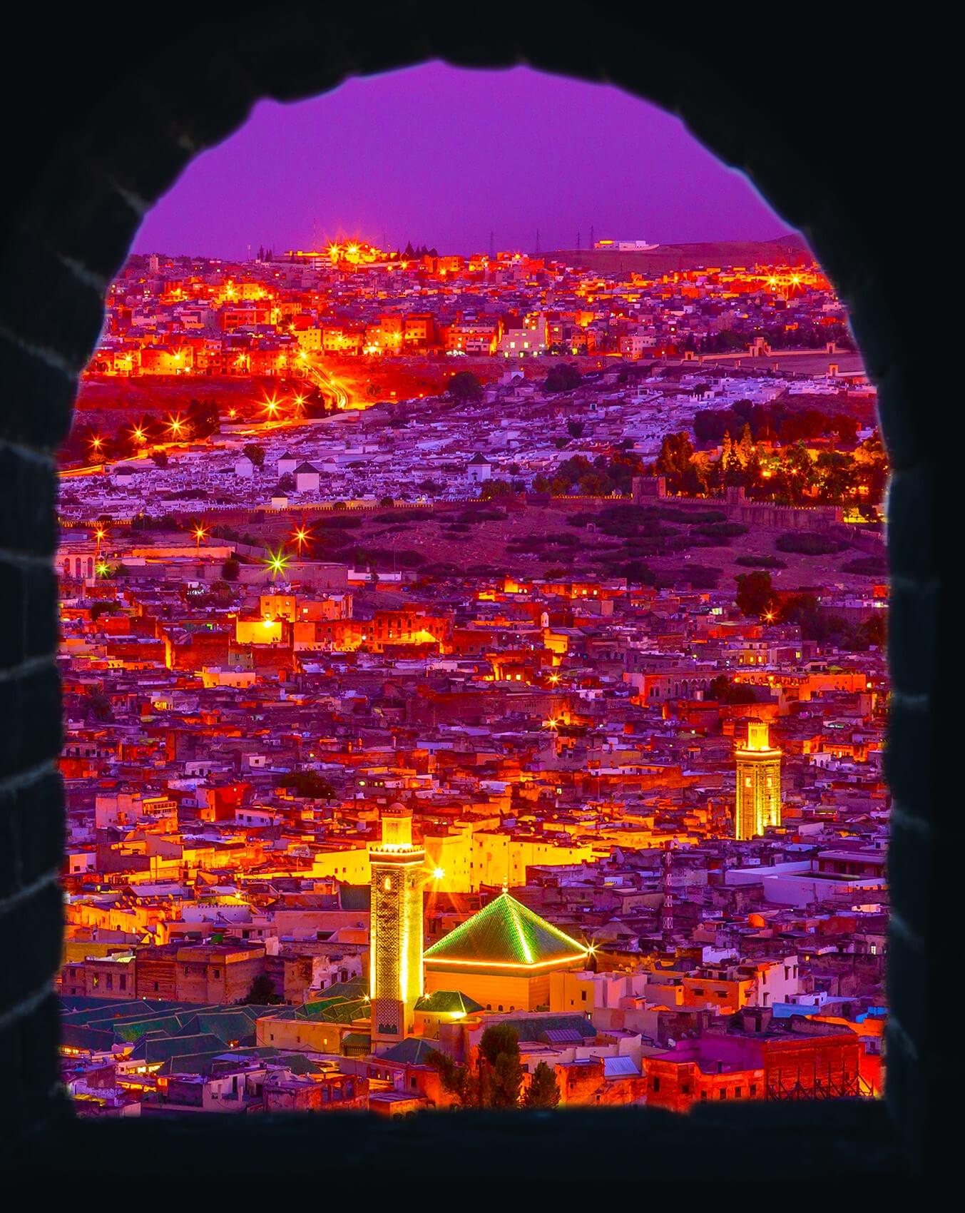 Fez, Morocco on Acid