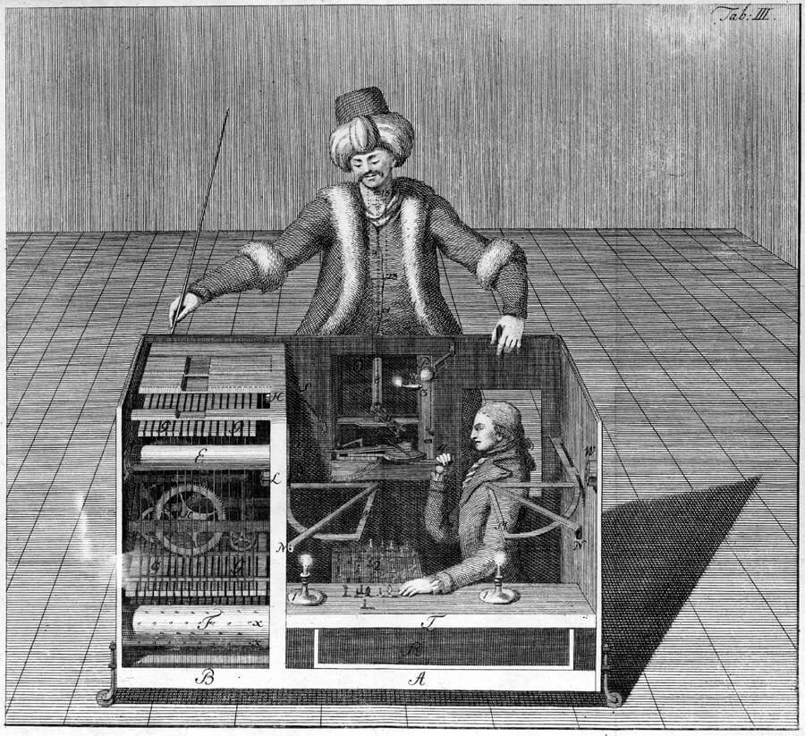 Turkish Chess Player Automaton