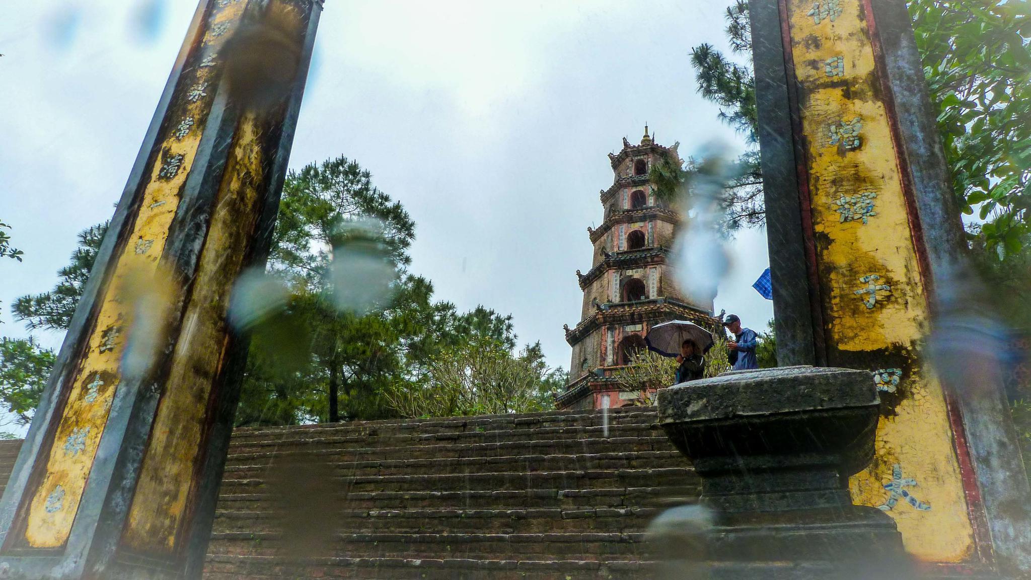 Buddhist Pagoda on The Perfume River, Hue | Laura Sanders