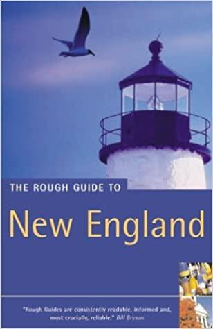Rough Guide to New England cover photo