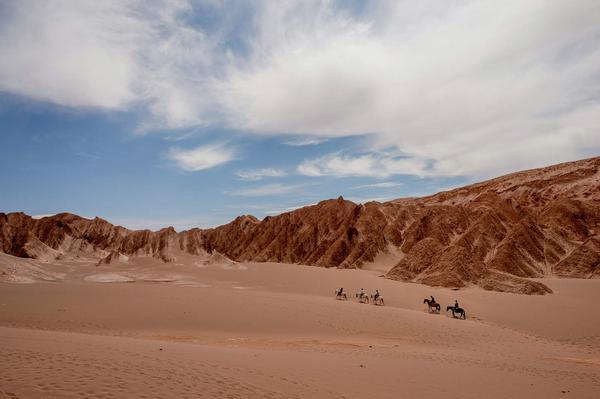 Photo of the Atacama Desert in Northern Chile