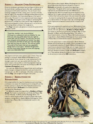 Shadow Over Innsmouth, and Resolutions to Reparations