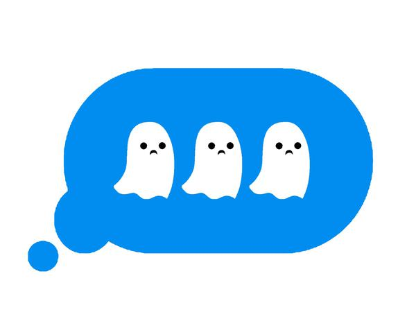 message ghost