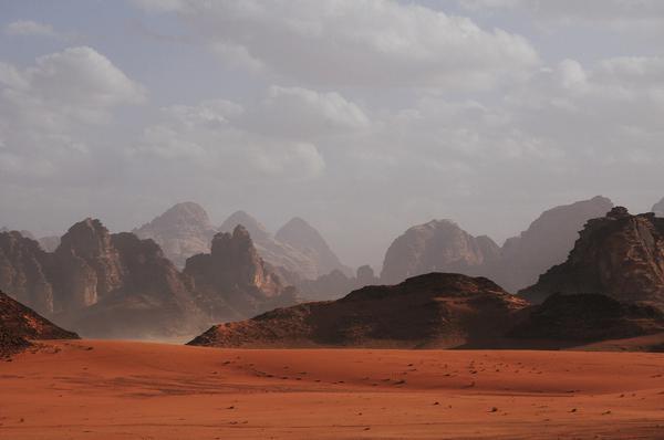 desert sand rock mesa