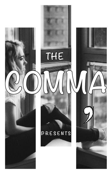 The cover of The Comma's spring 2017 edition