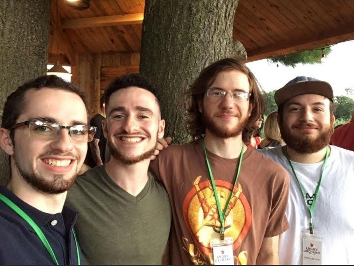 Benny Regalbuto and his friends