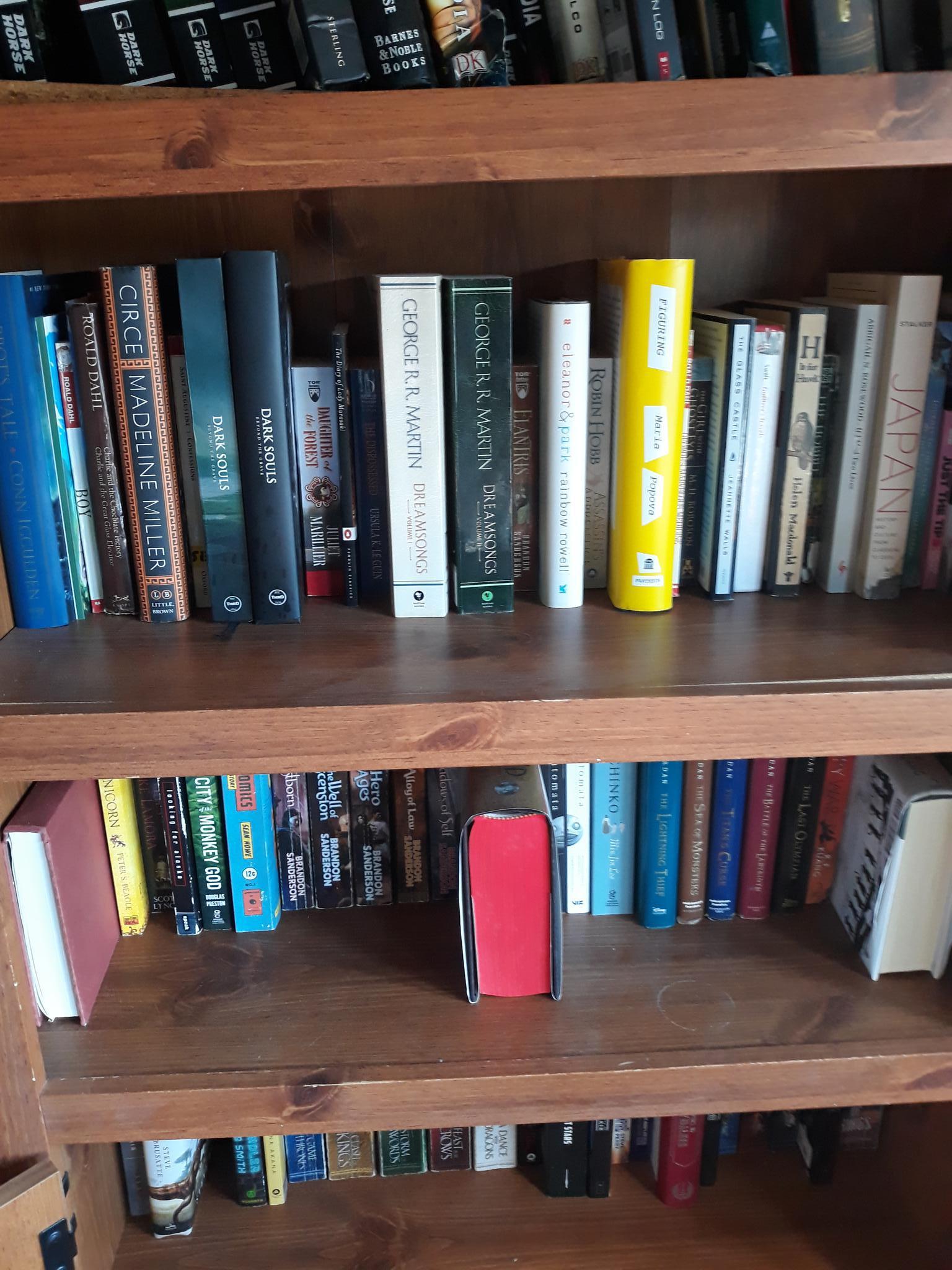 Benny Regalbuto's bookshelf