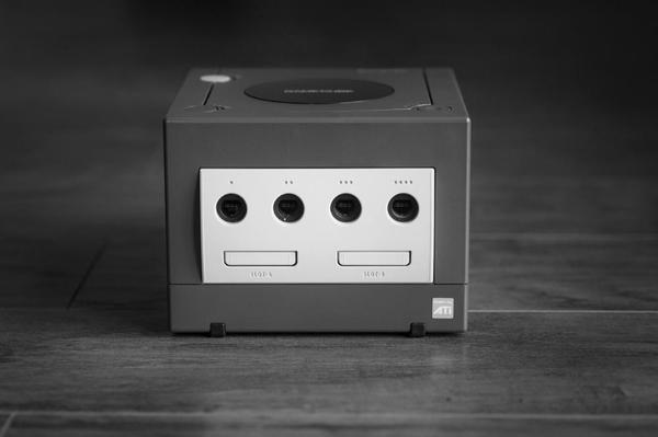 A grey GameCube