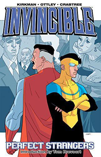 The cover of Invincible Vol. 3: Perfect Strangers