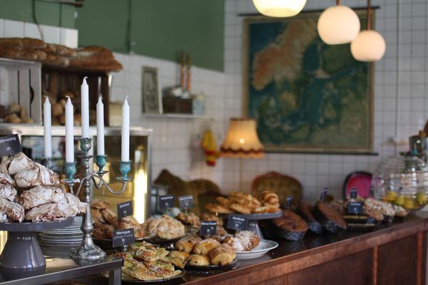 Borgs Bageri Bakery, Stockholm, Sweden