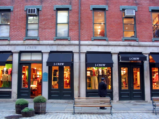 JCrew's South Street Seaport location