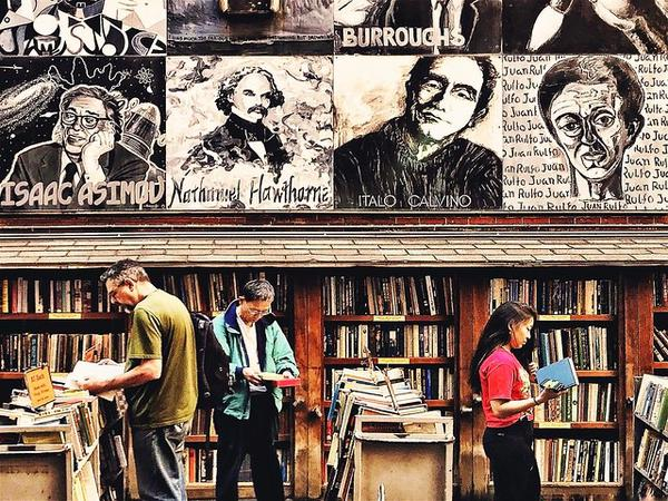 Brattle Book Store Boston