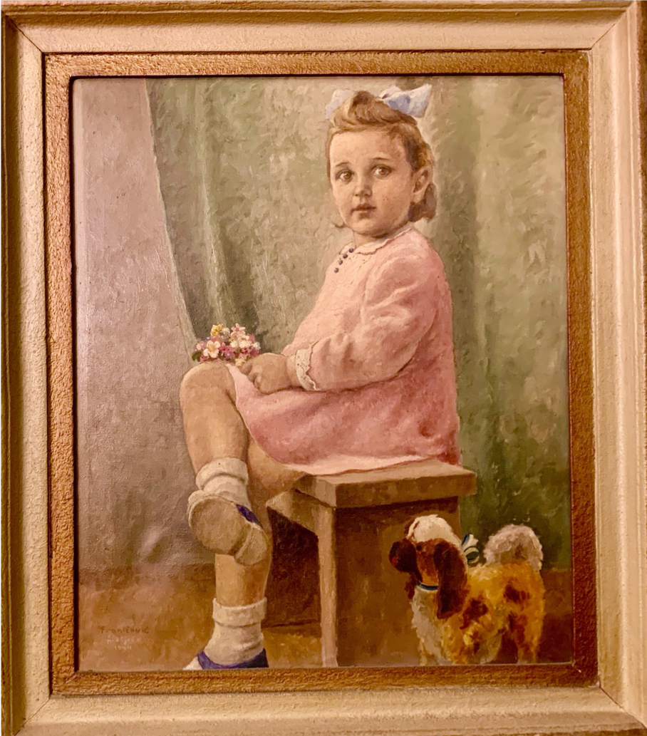 The Little Girl in the Painting