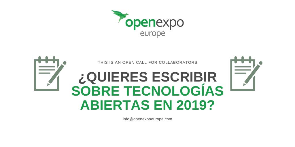 Contenidos para Twitter / Yacarlí Carreño Santamaría / OpenExpo Europe