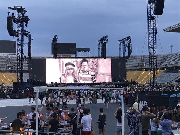 Concierto de Beyoncé y Jay-Z en Barcelona: renovación de votos mainstream / Yacarlí Carreño Santamaría / Cenar en Barcelona blog
