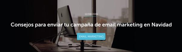 Consejos para enviar tu campaña de email marketing en Navidad / Yacarlí Carreño Santamaría / MailUp blog