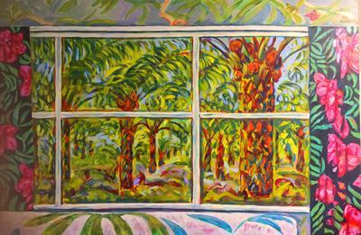 Palm Oil, through the window