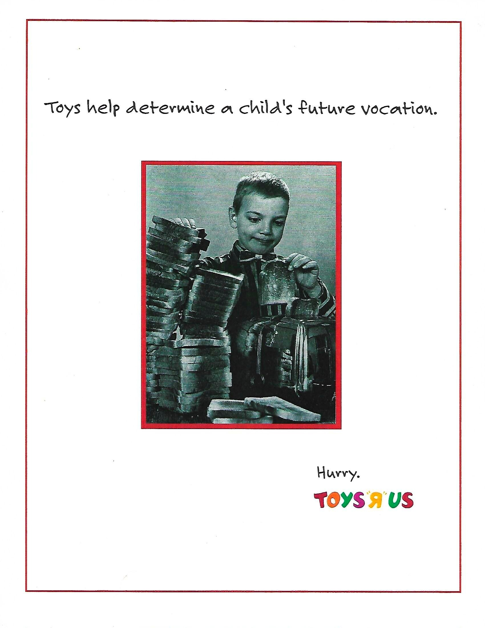 Toys R Us Campaign 1