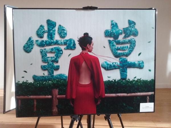 Chengdu hosted a fashion photo shoot. Art displayed in Dublin.