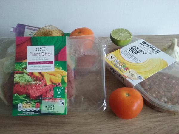 Vegetarian supermarket foods