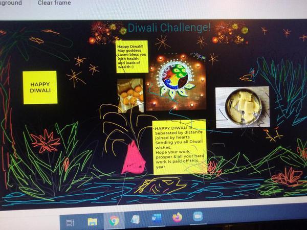 Diwali Challenge Art