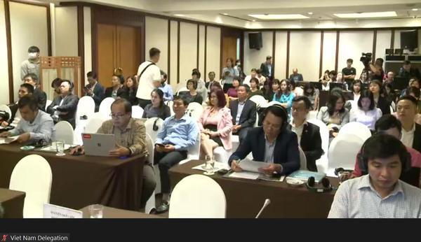 Media room, UN Conference, Viet Nam
